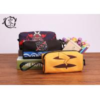 Buy cheap Pokemon Pikachu Zipper Pencil Case , Waterproof Travel Makeup Canvas Pencil Holder product