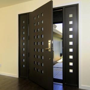 Buy cheap USA Villa Main Entry Door Modern Design Pivot Wooden Doors product