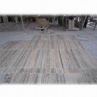 Buy cheap Italy Silver Travertine Tiles with Antiqued Surface Finish product
