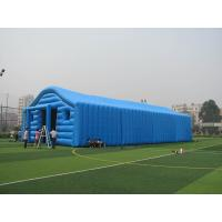 Buy cheap Commercial Blue Color Inflatable Tent / Inflatable Warehouse Tent for Storage product