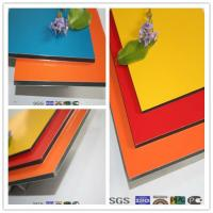 Buy cheap 1250mm*3200mm hot sale size aluminium clad composite panel product
