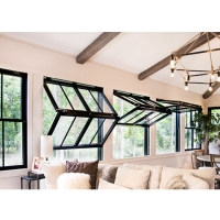 Buy cheap Soundproof Commercial Push Up Aluminium Glass Windows product