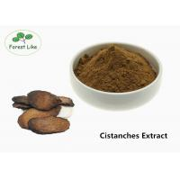 Buy cheap Brown Male Enhancement Powder Herbal Cistanches Extract 20% Glycosides Powder product