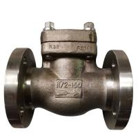 China Integral type Flanged Swing Check Valve 150LB DN25 A182 F316L,API602,BS1868 on sale