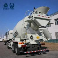 Buy cheap Aluminum Alloy Tank HOWO Concrete Mixer Truck Heating And Ventilating System product