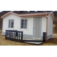 Buy cheap Germany Dismountable Movable Prefab House , Fire Proof Small Modular Cottages product
