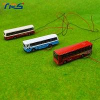 1:150 model bus Toy Metal Alloy Diecast bus Model Miniature Scale model for train layout scenery