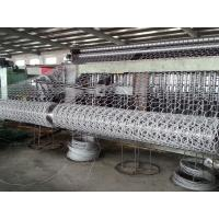 Buy cheap Automatic Hexagonal Mesh Machine 3300mm Width In Oil And Construction product