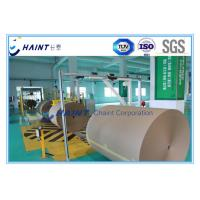 Buy cheap Customized Paper Roll Handling Conveyor , Paper Reel Handling Equipment With Installations product
