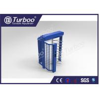 Buy cheap Indoor / Outdoor Full Height Turnstile Access Control System With Multi Mode product