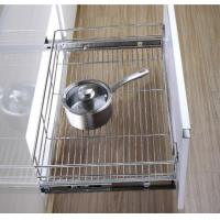 Buy cheap Stainless Steel Pull Out Wire Drawer Basket Modern Kitchen Decor Accessories product