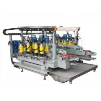 Buy cheap 6 Motors Glass Grinding Machine Straight Line Double Edging Machine product