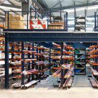 China Best Quality Multitire Warehouse Rack Mezzanine With Perfect Coating on sale