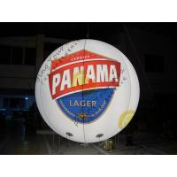 Buy cheap Customized Inflatable Advertising Balloon , LED Light Inflatable Helium Balloon product