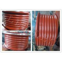 Buy cheap Red Lebus Grooved Drum Without Flanges / Cable Winch Drum For Lifting product