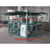 China HV Vacuum Dehydration Oil Purification System/Dielectric Oil Purifier Plant on sale