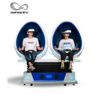 Buy cheap INFINITY Amusement Equipment 9D VR Cinema / Virtual Reality Simulator Games For Theme Park product