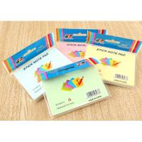 Buy cheap Fashion Customized Printed Sticky Note/Sticky Note Pad/Memo Pad product