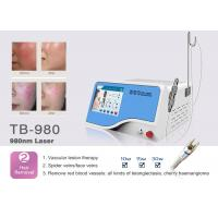 Buy cheap 10W / 15W / 30W 980nm Diode Laser Vascular Vein Blood Vessel Removal Machine for Skin Clinic from wholesalers