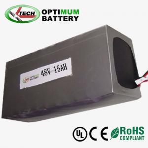 Buy cheap Rechargable  Lithium Iron Phosphate Batteries 48 Volt 150mah product