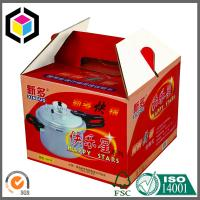 Buy cheap Gable Corrugated Packaging Box; Custom Color Print CMYK Portable Packaging Box product
