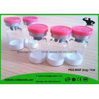 Buy cheap Human Growth Hormone Peptide Powder PEG - MGF 2mg / Vial , Muscles Growth Peptide IGF-1ec product