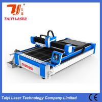 Buy cheap Pipes And Sheets Cut In One Fiber Laser Cutting Machine 380V Anti Collision Cutting Head product