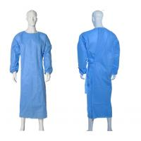 Buy cheap Isolation Disposable Medical Gowns , Disposable Plastic Gowns PP Material product