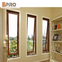 Buy cheap French Vertical Aluminium Double Glazed Awning Windows With Powder Coating french awning window price product