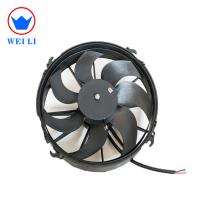 Buy cheap 12 Electric Fan for Auto Air Conditioner Cooling System, Bus DC Condenser Fan product