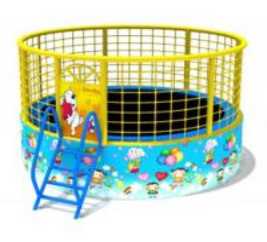 Buy cheap Interesting Kids Indoor Trampoline EastT020 , Hexagon Roof 20ft Trampoline product
