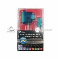 Buy cheap USB to DB9 parallel serial IC cable apply in PC or Linux laptop or desktop computer product