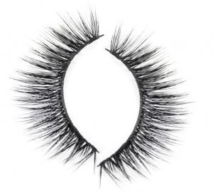 Buy cheap Soft Silk Faux Mink Lashes Pbt Fiber Synthetic Thick False Mink Eyelashes product