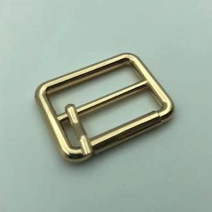 Buy cheap Golden Needle Point L25MM Custom Brass Belt Buckles plating finishing product