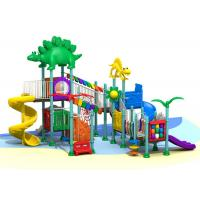 China Creative Kid Backyard Playground Set , Residential Outdoor Playground Equipment on sale