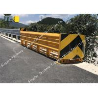 Buy cheap Anti Impact Sled Crash Cushion Barrier Thickened Pipe Reflective Night Driving product