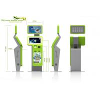 Buy cheap Retail / Ordering / Payment Self service Waterproof Lobby Kiosk with Fingerprint Reader product