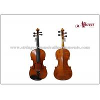 Buy cheap Moderate Natural Flamed Musical Instruments Violin With Spruce Face Material product