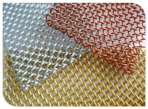Buy cheap Decorative Chain Link Mesh 1mm Metal Coil Curtain product