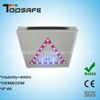 Buy cheap 2012 New Developed LED Solar Traffic Warning Signs product