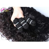 China Dropship Factory Supply Extension Virgin Peruvian Hair Sew In Weave Italian Curl wholesale