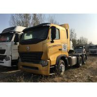 Buy cheap Durable HOWO A7 Tractor Truck , High Performance 420HP Tractor Head Truck For Logistics product