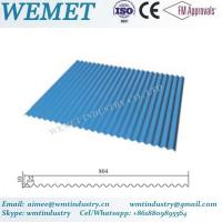 Buy cheap Corrugated steel sheet for steel structure building facade WMT-10-32-864 product