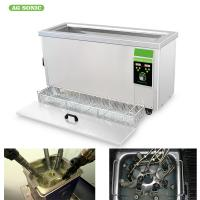Buy cheap Stainless Steel 304/316 Ultrasonic Filter Cleaning Machine 20 Minutes Cleaning Time product