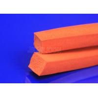 China Red Foam Sealing Strip ROHS Compliant Continuous Operating Temperature on sale