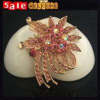 Buy cheap Wedding Brooch Bouquet ,Large Crystal Brooches,Big Wedding Party Dress Suit Brooch Pin product