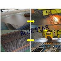 Buy cheap Decorative Perforated Sheet Metal Panels , Perforated Copper Sheets Corrosive Resistance product