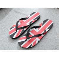 Buy cheap Camouflage Painted Patterns Fashion Flip Flops Mens Beach Slippers PVC Upper product
