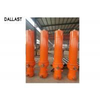 Buy cheap DALLAST Heavy Duty Hydraulic Cylinder Sleeve Telescopic Stages for Dump Truck product