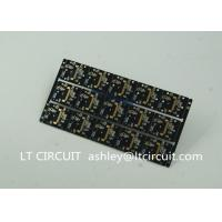 Buy cheap Gold Plating Custom Pcb Manufacturing Black Soldering With IC Lead BGA product